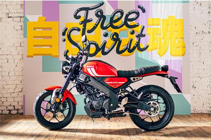 The bike gets Yamaha's 'Deltabox' frame.