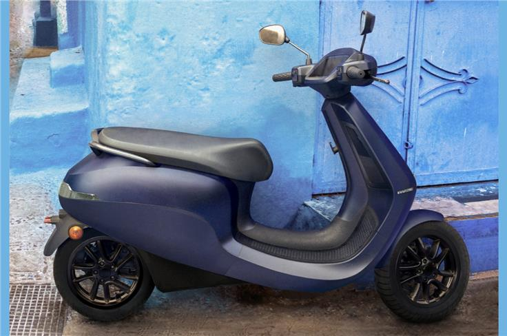 The Ola Electric scooter has a claimed range of 181km and top speed of 115km.