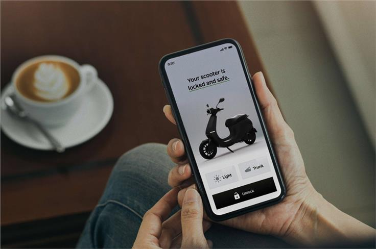 The S1 and S1 Pro have a proximity unlock feature that starts up the scooter as you approach it.