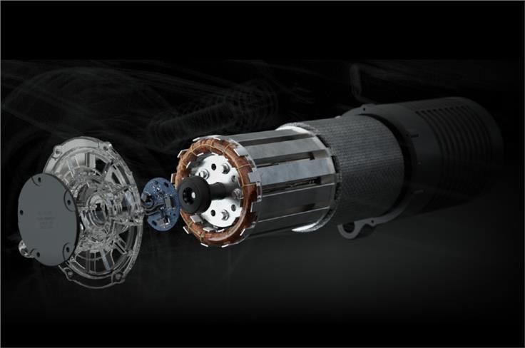 Powering the Ola Electric scooter is 8.5kW (peak power) motor.