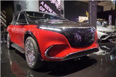 Mercedes-Maybach EQS SUV image gallery