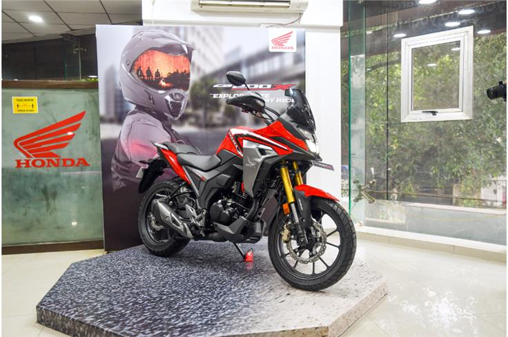 Honda has used the foundations of the Hornet 2.0 to create the CB200X adventure tourer.