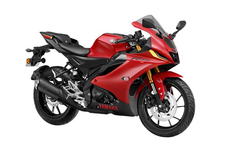 The standard variant of the new R15 is priced at Rs 1.67 lakh.