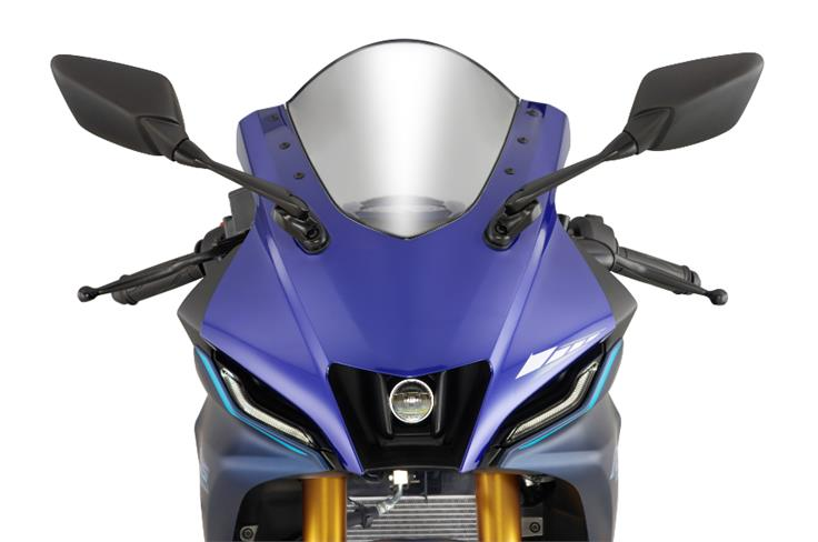The front end seems reminiscent of the new YZF-R7.