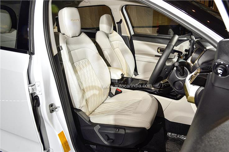 Safari Gold gets diamond quilted-genuine leather seats; upholstery colour similar to regular Safari.