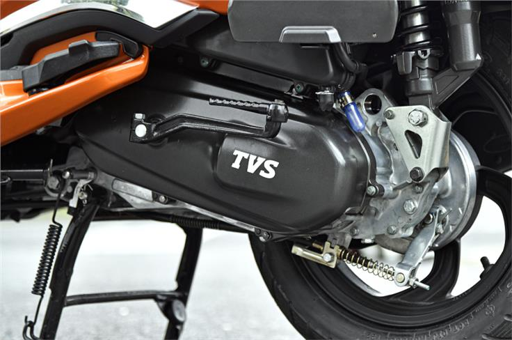 TVS claims that the Jupiter 125 is more efficient than some of its rivals.