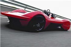 Vazirani Ekonk electric hypercar image gallery