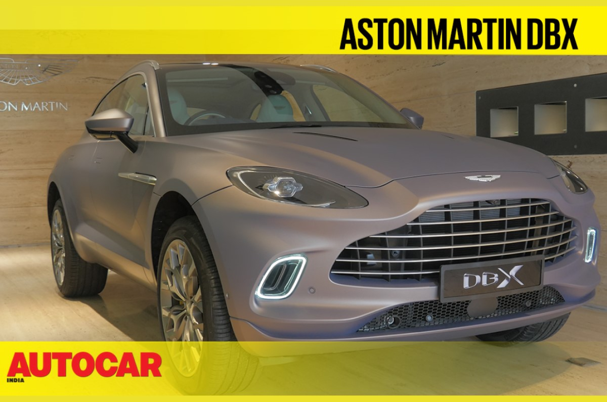 Aston Marin Dbx India Price Close Look Video And More Autocar India