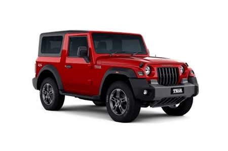 Mahindra Thar Petrol AX Standard Fixed Soft Top (6 Seater)